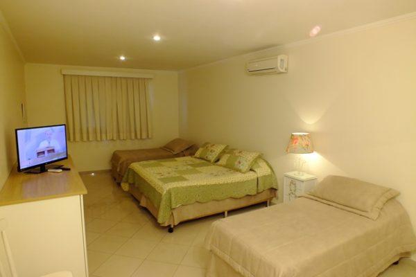 Suíte luxo para família do videiras palace hotel na canção nova em cachoeira paulista