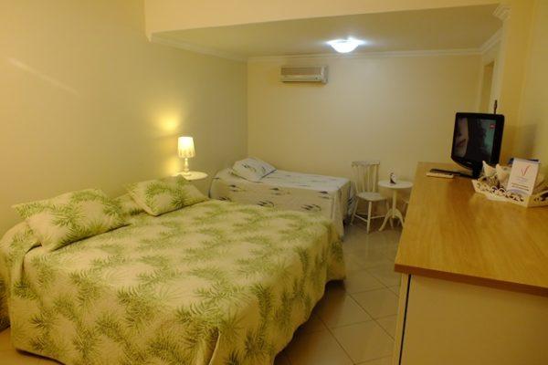 Suítes standard interna para Família no videiras palace hotel em Cachoeira Paulista