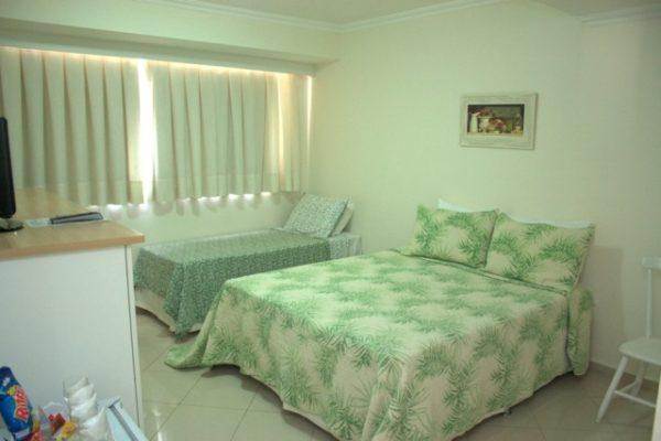 suítes standard externas família no videiras palace hotel  na cancão nova em cachoeira paulista .