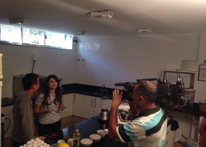 Programa Bem da Hora da  TV Canção Nova no Videiras Palace Hotel.