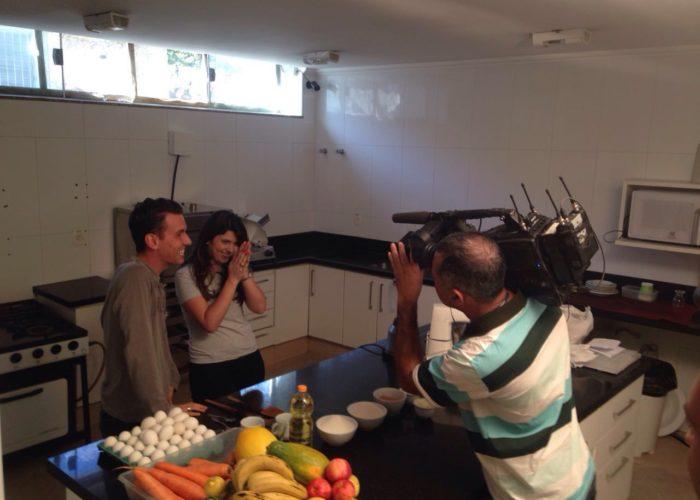 Programa Bem da Hora da  TV Canção Nova no videiras palace hotel