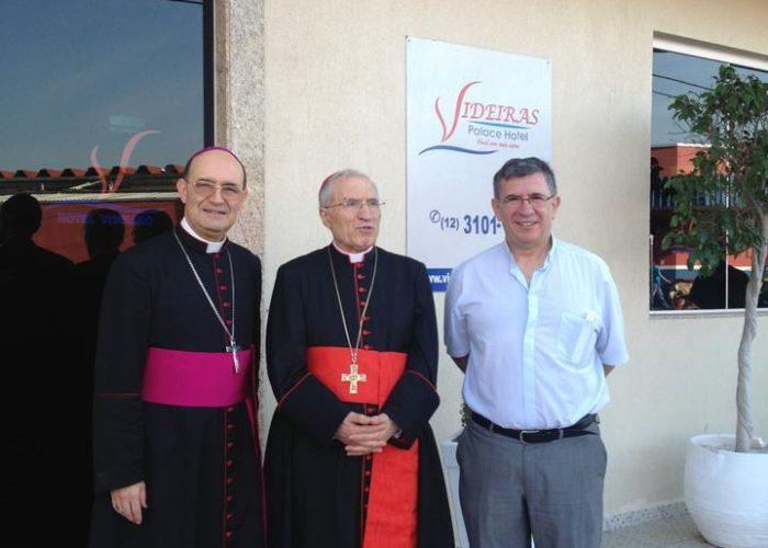 Bispo e cardeal de Madri comitiva do Papa Francisco no JMJ 2013 NO VIDEIRAS PALACE HOTEL