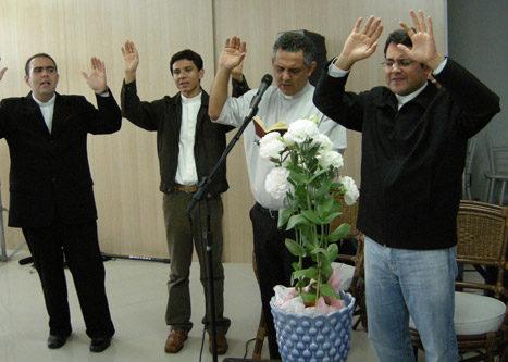 Celebração na Inauguração do videiras palace hotel